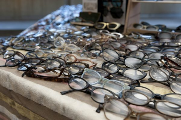 vintage glasses at the vintage garage chicago