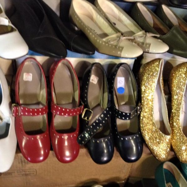 Narrative Mercantile sells vintage in Chicago and you will find their vintage shoes and vintage clothing at the Chicago Vintage Clothing and Jewelry Show in February.