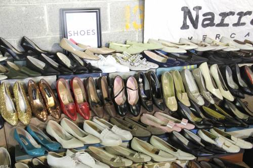 Narrative Mercantile brings vintage shoes by the dozen to the all new Chicago Vintage Clothing and Jewelry Show in February.