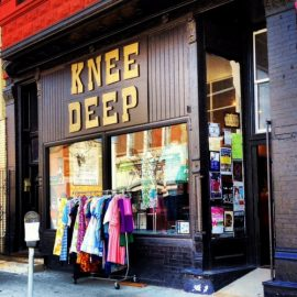 Knee Deep Vintage in Pilsen at the Chicago Vintage Clothing and Jewelry Show