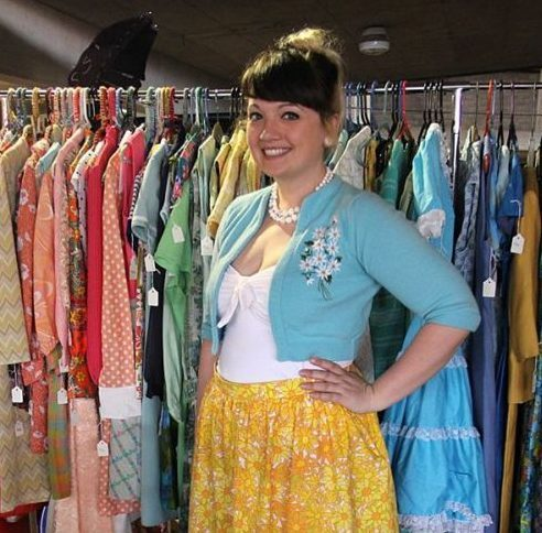Michelle of Bolted Vintage carries all authentic vintage clothing. From dresses, vintage sweaters, shoes accessories and more!