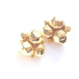 Sonia Rykiel vintage designer earrings, Chicago Vintage Clothing and Jewelry