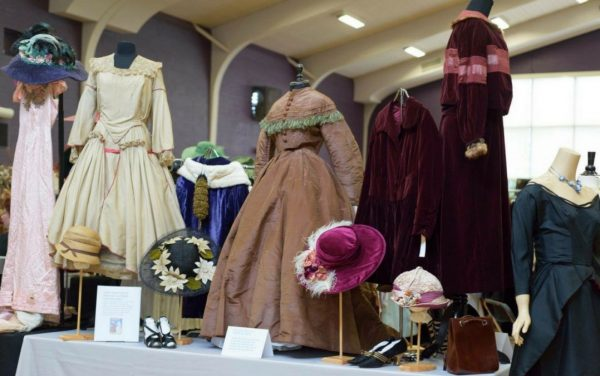 Chicago Vintage Clothing and Jewelry Show in Edgewater neighborhood of the city of Chicago