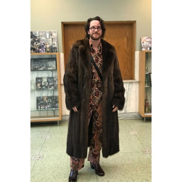 Kevin is a great Vintage Garage Chicago customer. He came to the new show wearing his fur and a great vintage outfit.