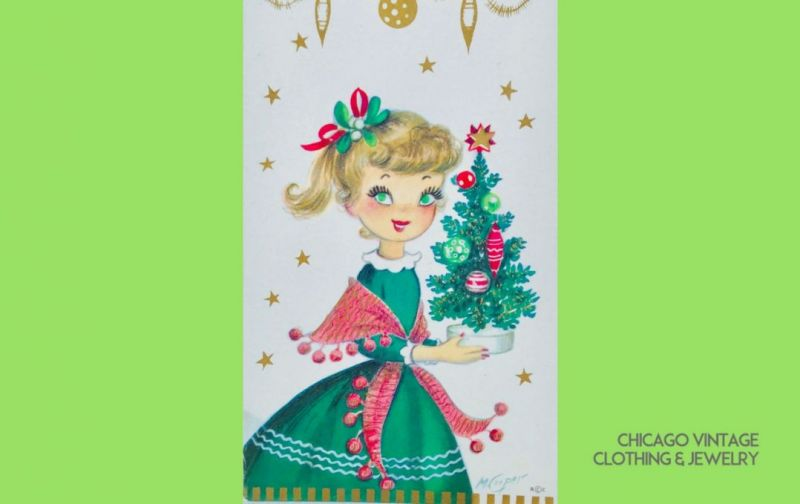 Chicago vintage Clothing and Jewelry show Happy Holidays!