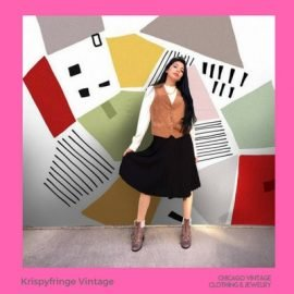 2 Krispy Fringe Vintage brings their coolest vintage fashion to the Chicago Vintage Clothing & Jewelry show March 23