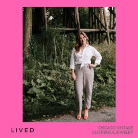 L I V E D joins us from Holland Michigan with amazing pieces for the annual Chicago Vintage Clothing & Jewelry Show with amazing vintage apparel like vintage separates!