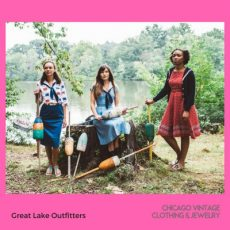 Great Lake Outfitters Kimono, see them at the Chicago Vintage Clothing and Jewelry Show March 23