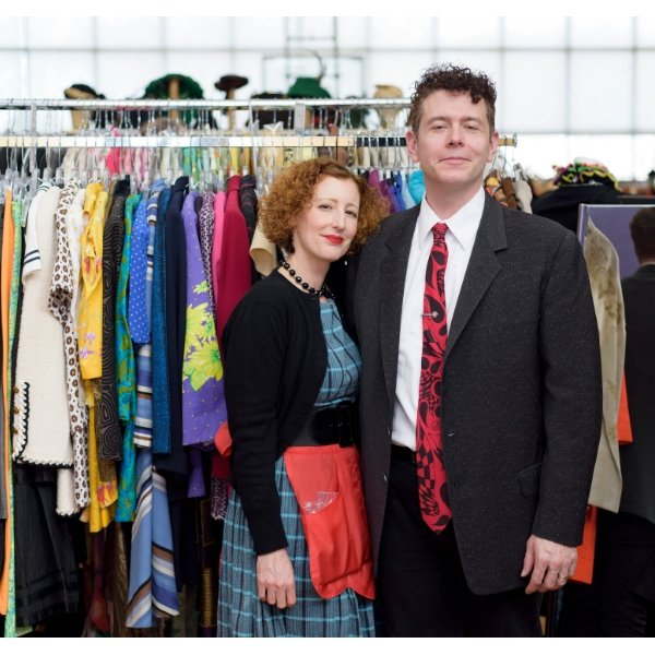 Amy and her husband, Viva Vintage with a huge variety of vintage fashion. They will be at the next Chicago Vintage clothing and Jewelry show.