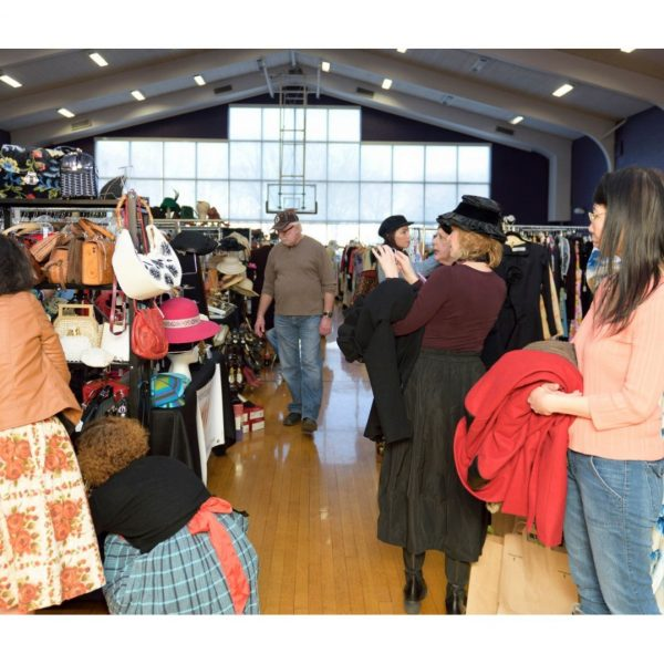Vintage fashion and apparel twice a year in Chicago