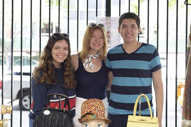 The Galvin Family at Chicago Vintage Clothing and Jewelry