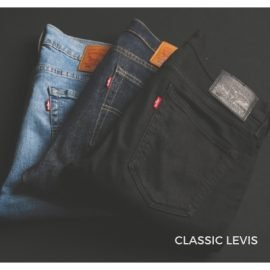 Vintage Levi's are always in style. Find them and many more styles at the Chicago Vintage Clothing and Jewelry Show!