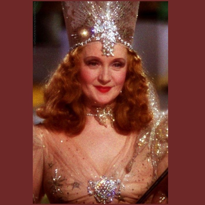 Glenda the good Witch Hollywood jewelry brooch Hollywood vintage costume jewelry.