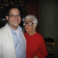 Erik Yang and Iris Apfel Chicago Vintage Clothing and Jewelry Show
